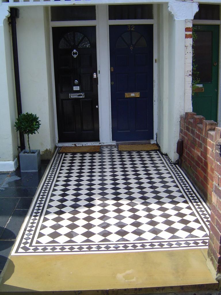 Tile Pathways Garden Gurus Creative Landscape Construction