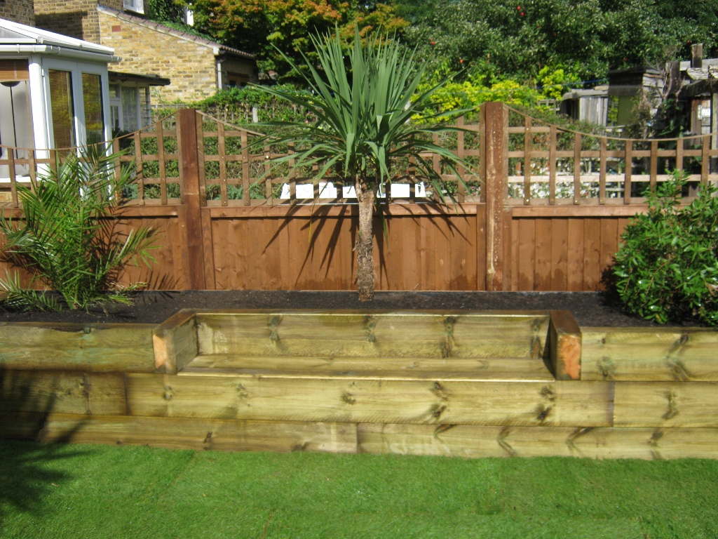 Railway Sleepers – Garden Gurus | Creative Landscape Construction